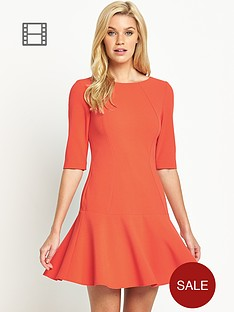 south-pephem-dress-with-three-quarter-sleeves