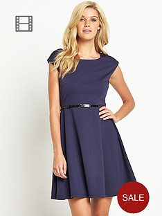 south-tall-ponte-belted-skater-dress