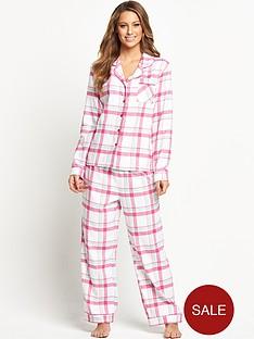 sorbet-spring-check-flannel-pyjamas
