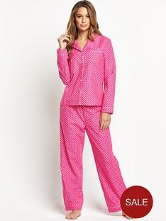 sorbet-spring-spot-flannel-pyjamas