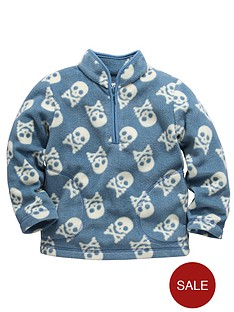 ladybird-boys-skull-fleece-top