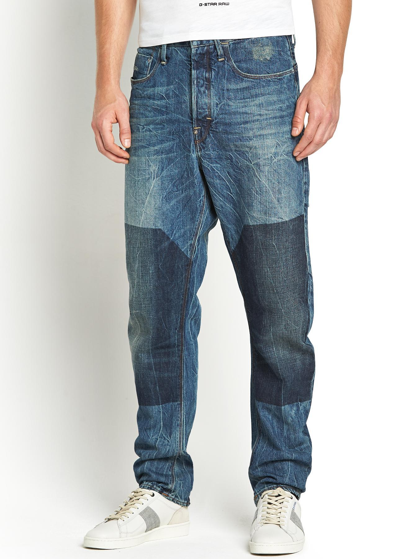 Type C Loose Mens Tapered Jeans