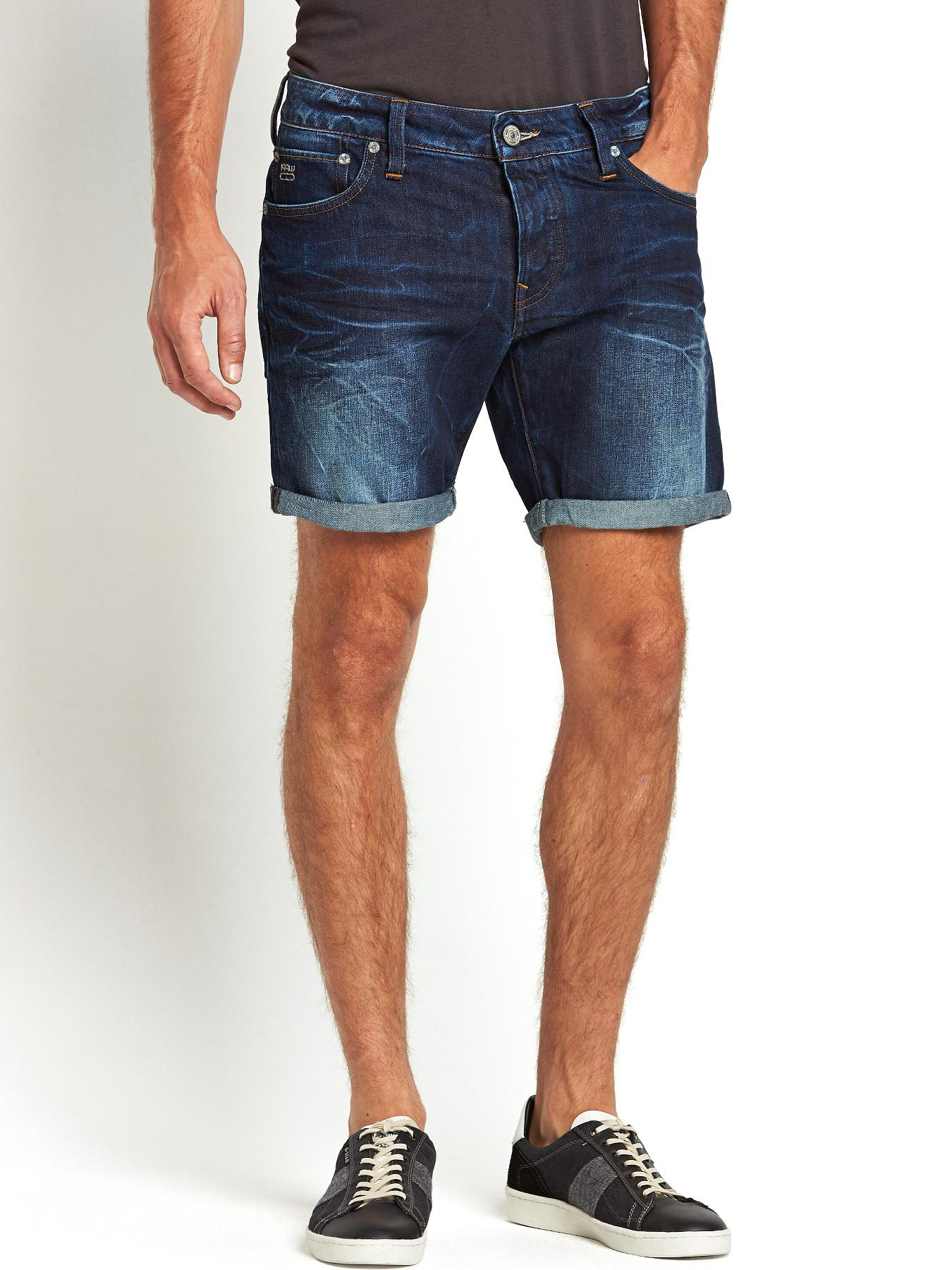Mens 3301 Low Tapered Shorts