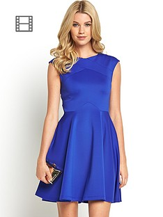 ted-baker-arwyn-panelled-skater-dress