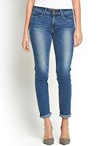Revel Shaping Demi Curve Slim Leg Jeans - Sundried