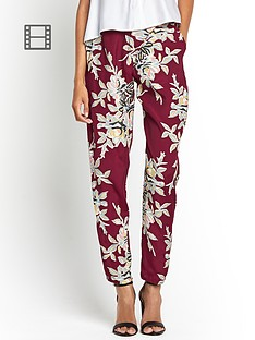 motel-amaya-flower-print-trouser