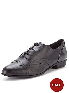 clarks-dawson-reel-leather-brogues-black-leather