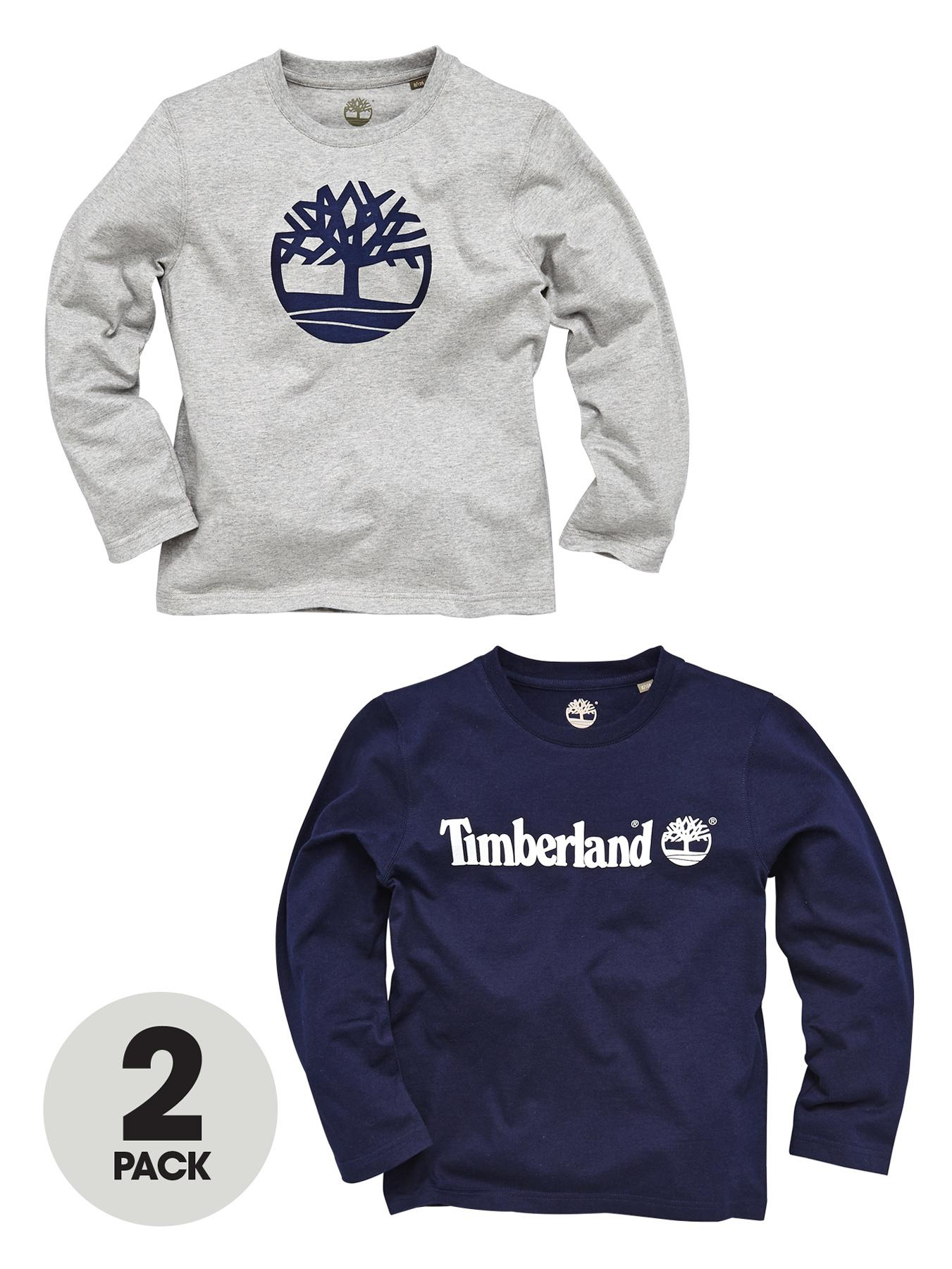Long Sleeve T-shirts (2 pack), Navy