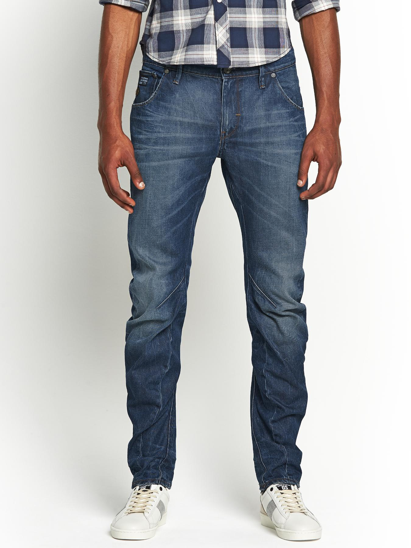 Mens Arc 3D Slim Jeans