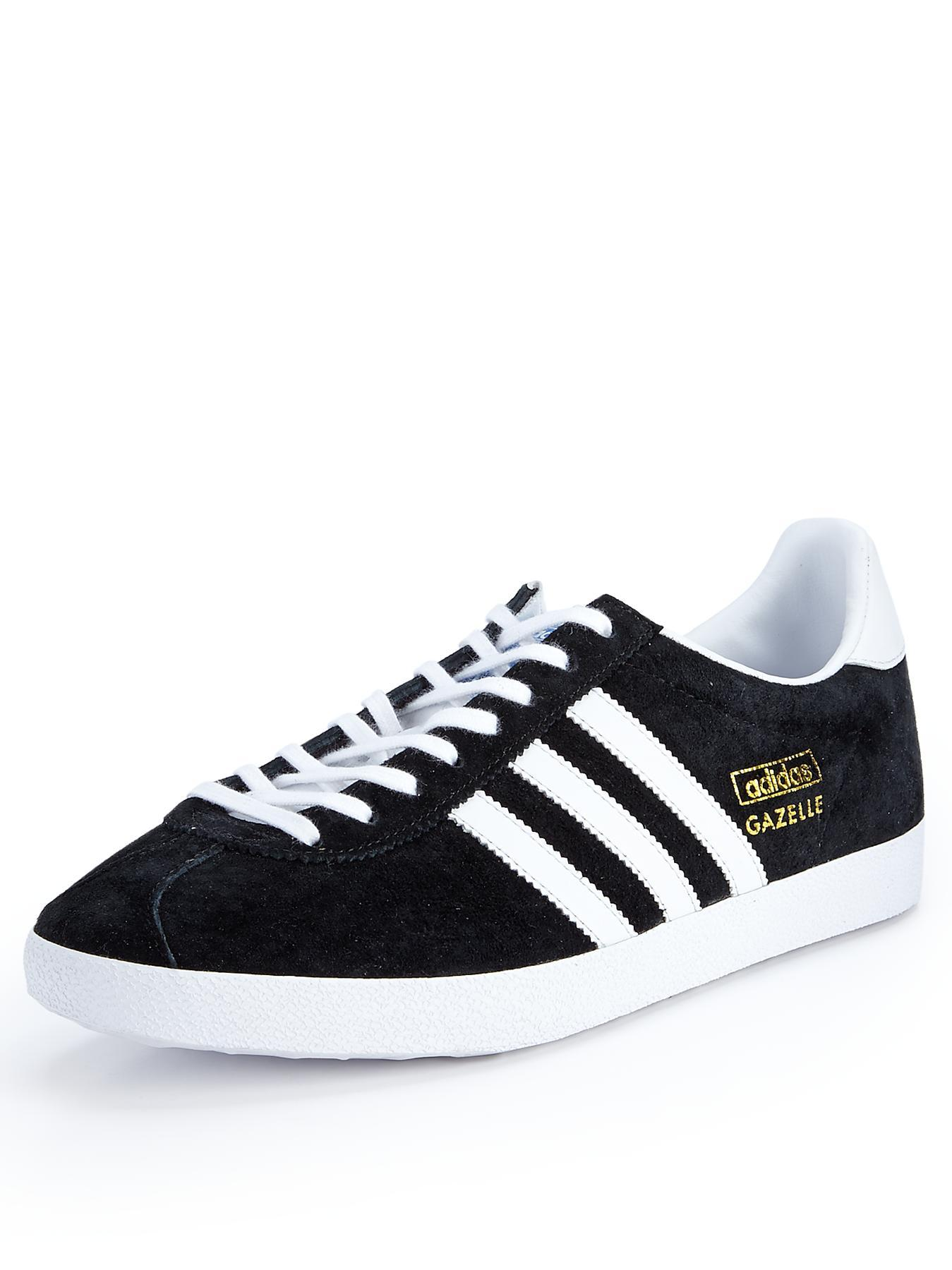 Gazelle OG Training Shoes, Black