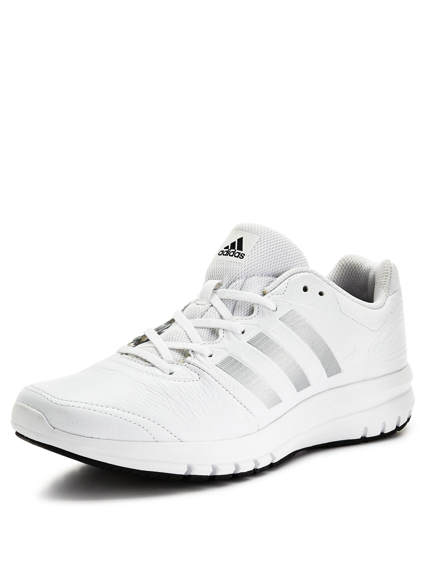 Duramo 6 Leather Mens Trainers - White, White