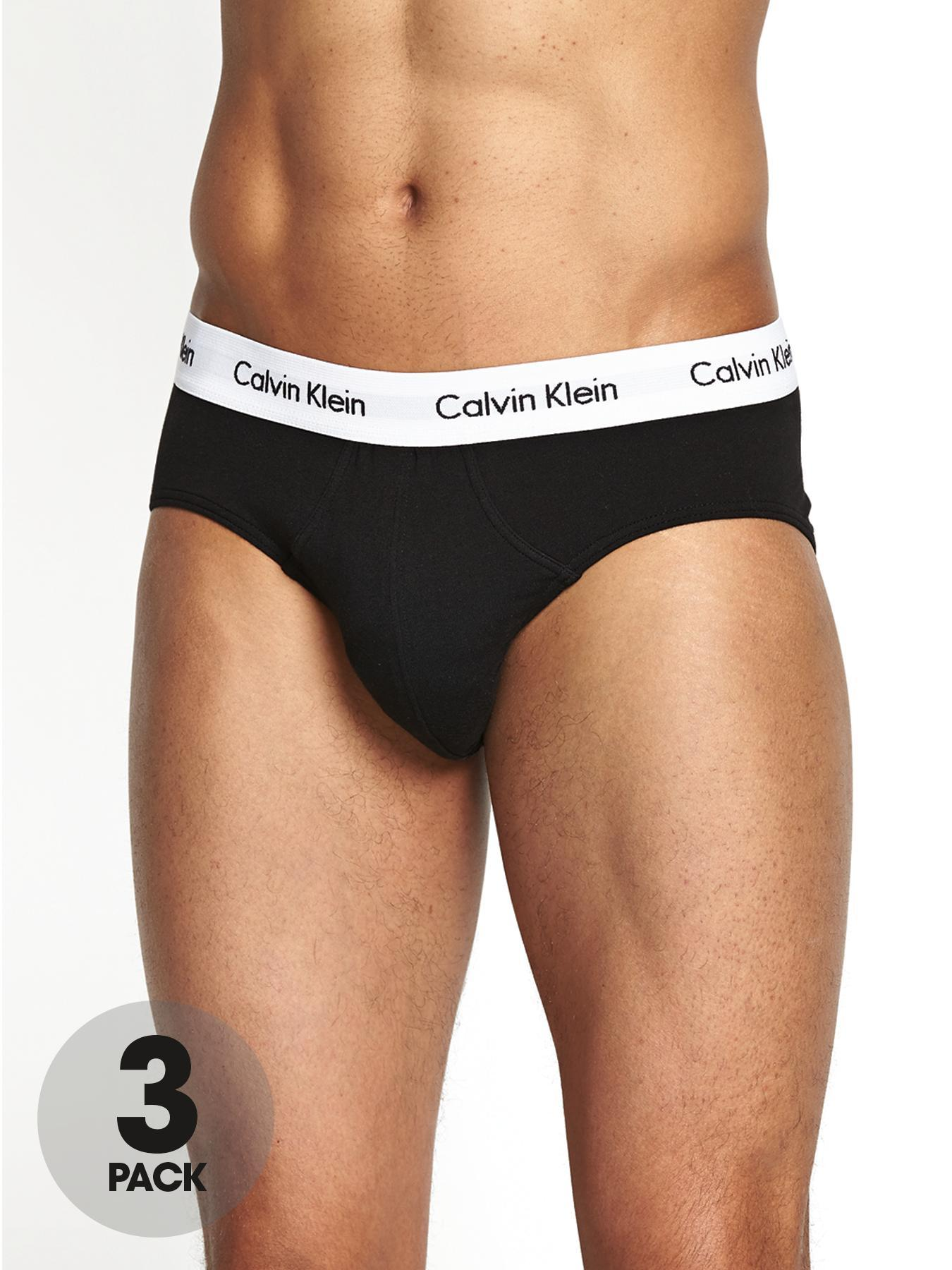 Mens Briefs (3 Pack), Black