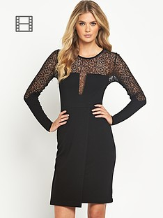 french-connection-layla-lace-midi-dress