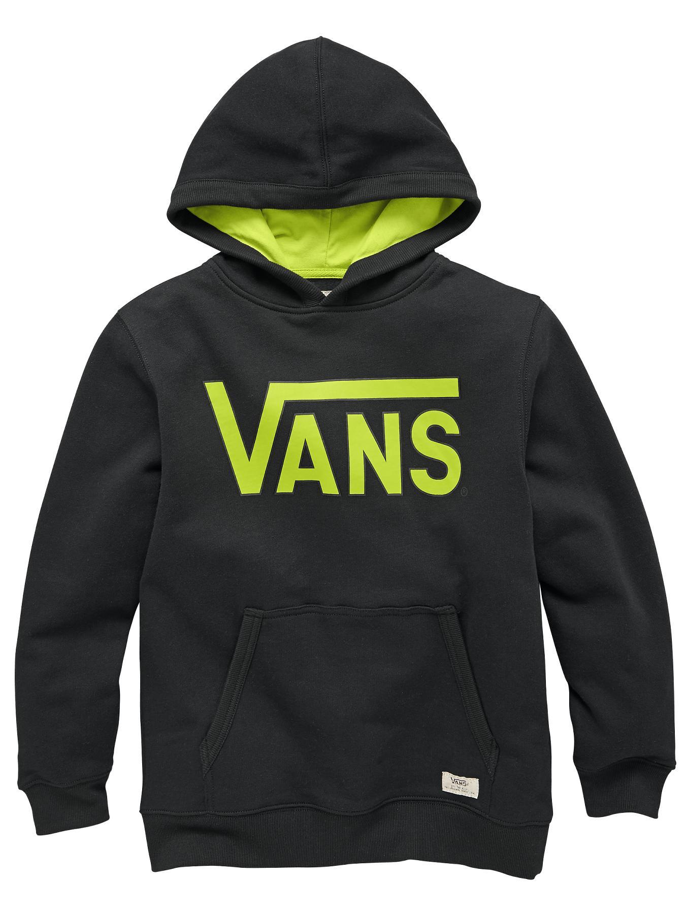 Youth Boys Classic Hoody, Black