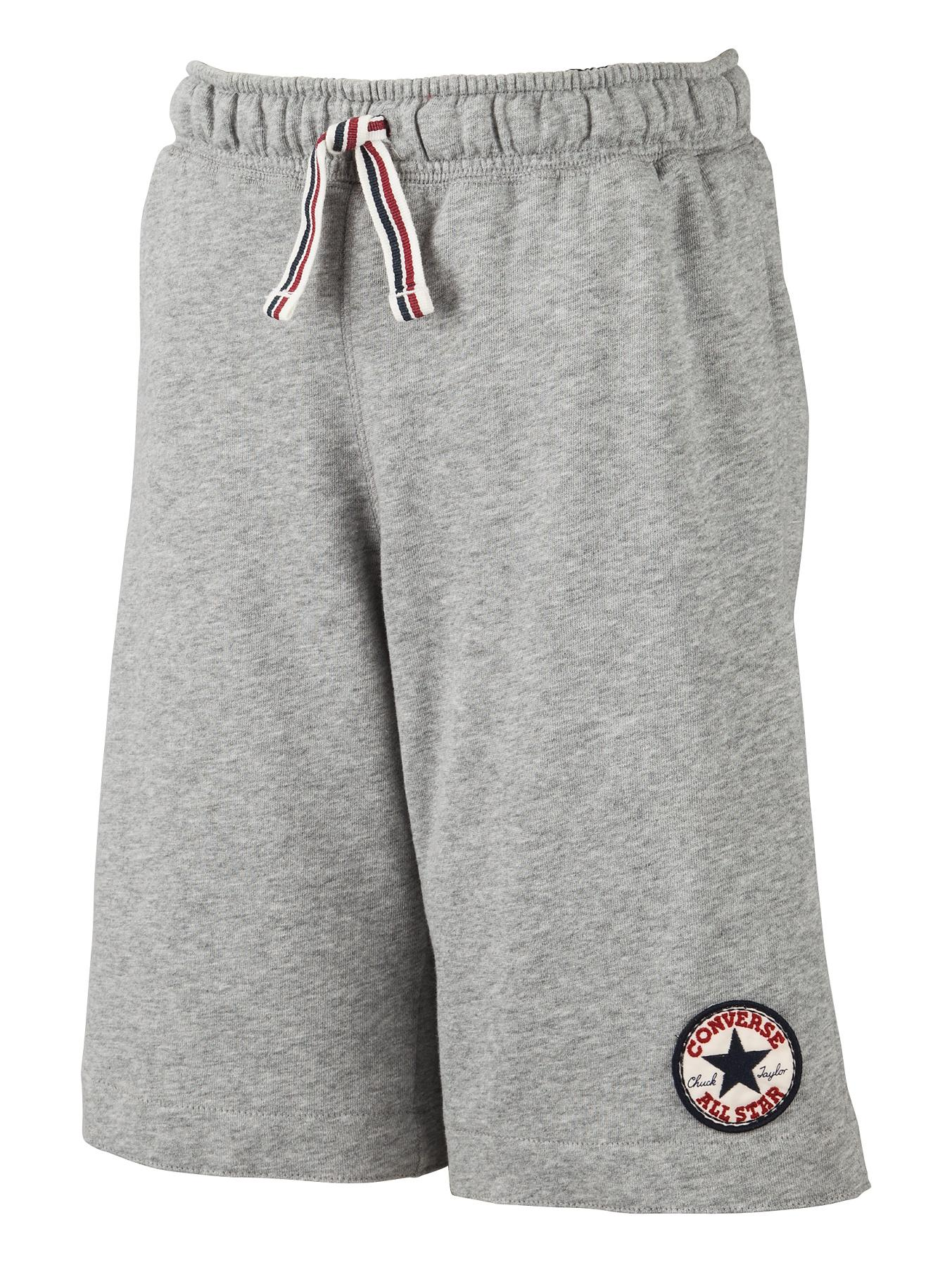 Youth Boys Chuck Patch Shorts, Grey