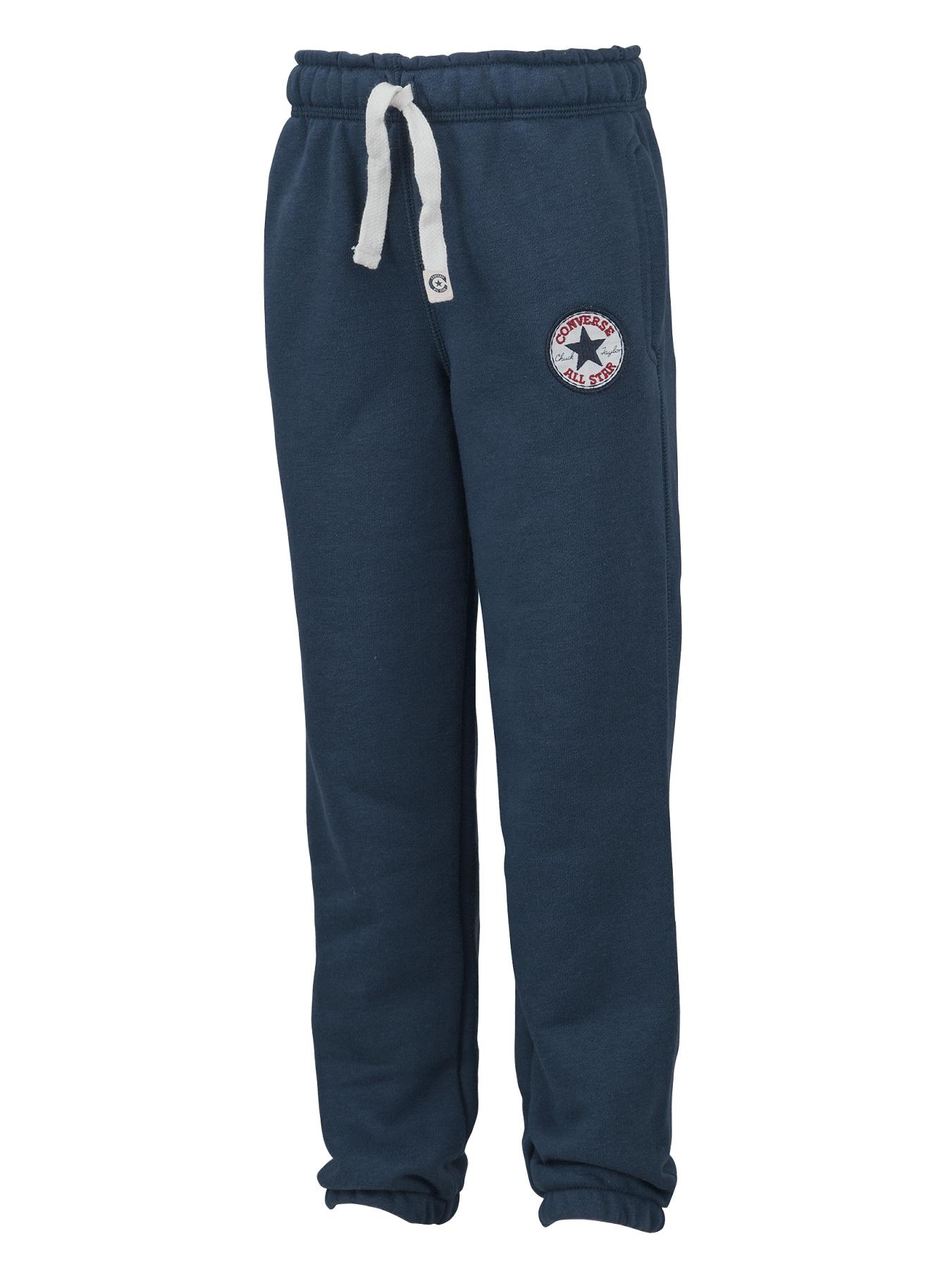 Little Boys Chuck Patch Fleece Pants - Navy, Navy