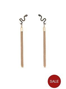 lipsy-long-snake-chain-earrings