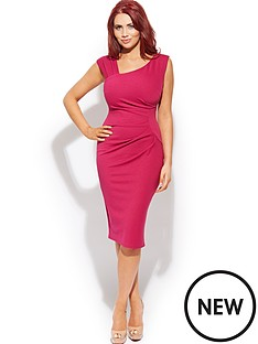 amy-childs-chloe-ruched-midi-dress