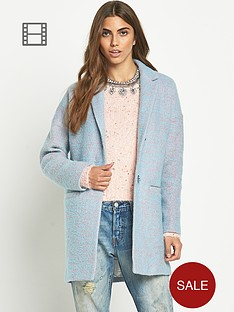 glamorous-oversized-cocoon-speckled-coat