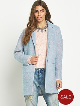 glamorous-oversized-cocoon-speckled-coat