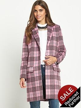 glamorous-tartan-wool-coat
