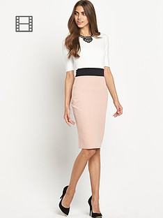ax-paris-2-in-1-midi-dress