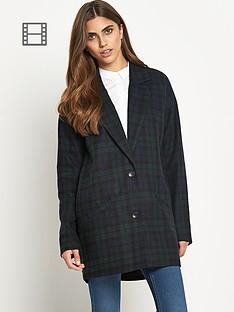 noisy-may-katelyn-check-jacket