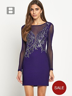 lipsy-embroidered-long-sleeve-bodycon-dress
