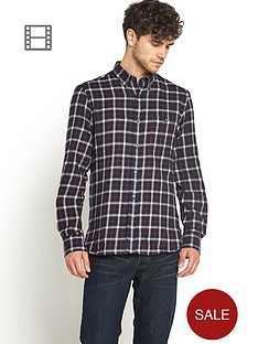 french-connection-long-sleeve-flannel-sh