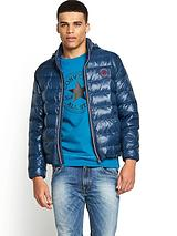 Mens Padded Chuck Patch Bomber Jacket