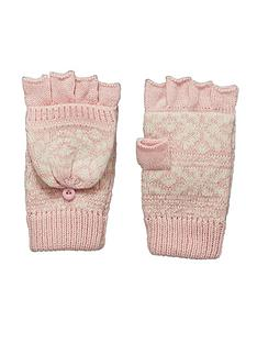 lipsy-fairisle-gloves