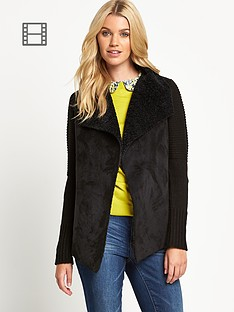 oasis-shearling-drape-chunky-knitted-car