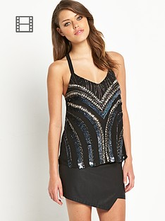 lipsy-beaded-cami-top