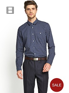 ted-baker-mens-long-sleeve-cross-print-shirt