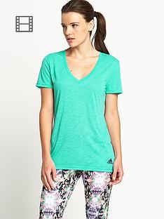 adidas-prime-v-neck-t-shirt