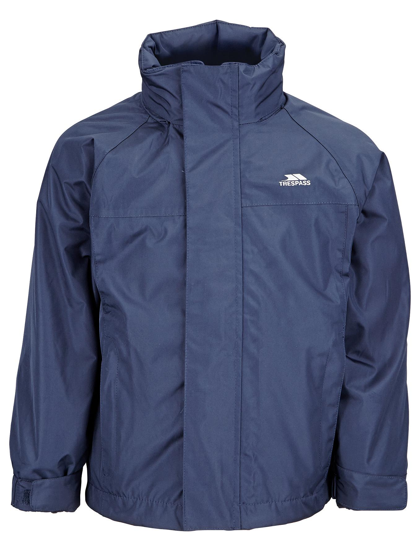Boys 3-in-1 Waterproof Jacket, Navy