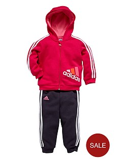 adidas-baby-girl-logo-fleece-suit