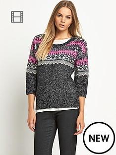 superdry-sequin-fairisle-crew-sweater