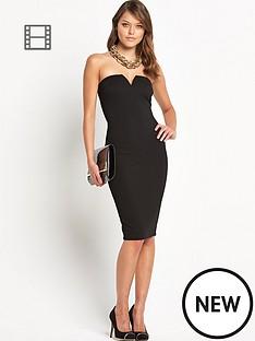 ax-paris-sleek-bandeau-dress