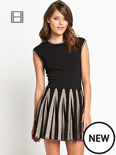 ted-baker-aleece-full-skirt-knitted-dres