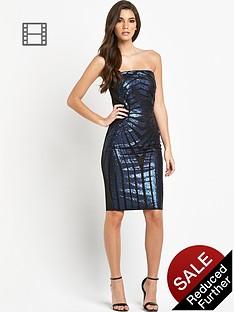 lipsy-sequin-bandeau-dress
