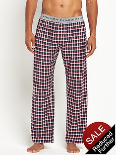 french-connection-mens-brushed-check-trousers