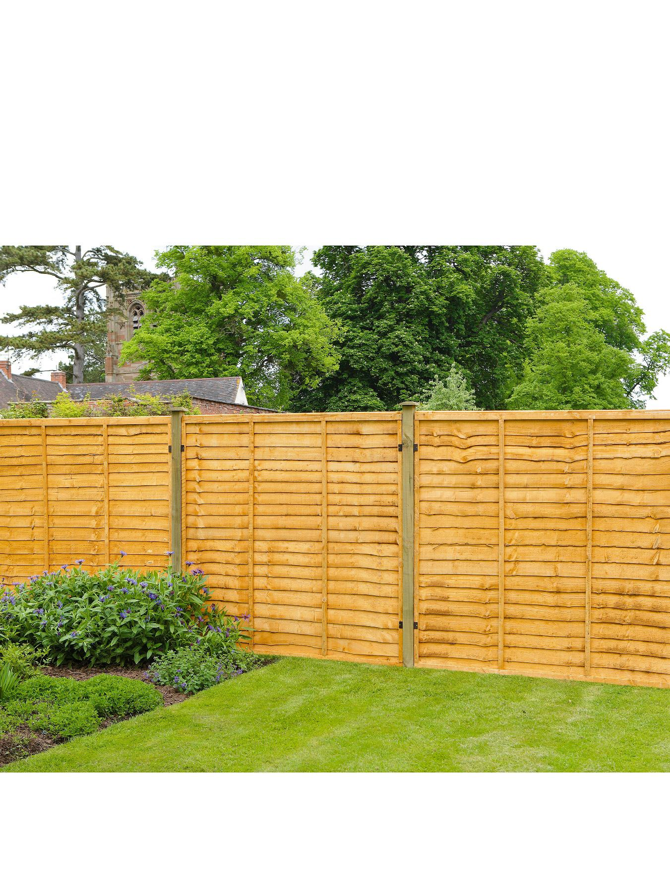 Trade Lap Panel 6 x 6ft Fence Panels (10 Pack)