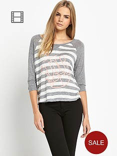 superdry-grindle-stripe-raglan-top