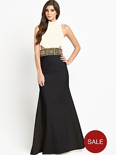 forever-unique-sabrina-embellished-waist-maxi-dress
