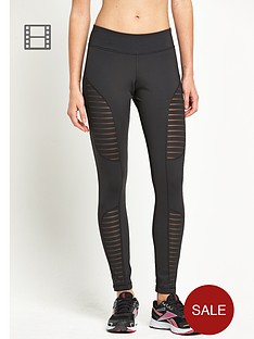 reebok-mesh-panelled-leggings