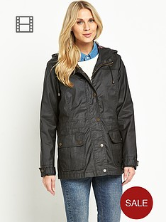 trespass-rubywax-jacket-black