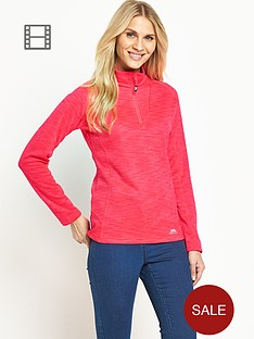 trespass-fairford-quarter-zip-fleece-pink