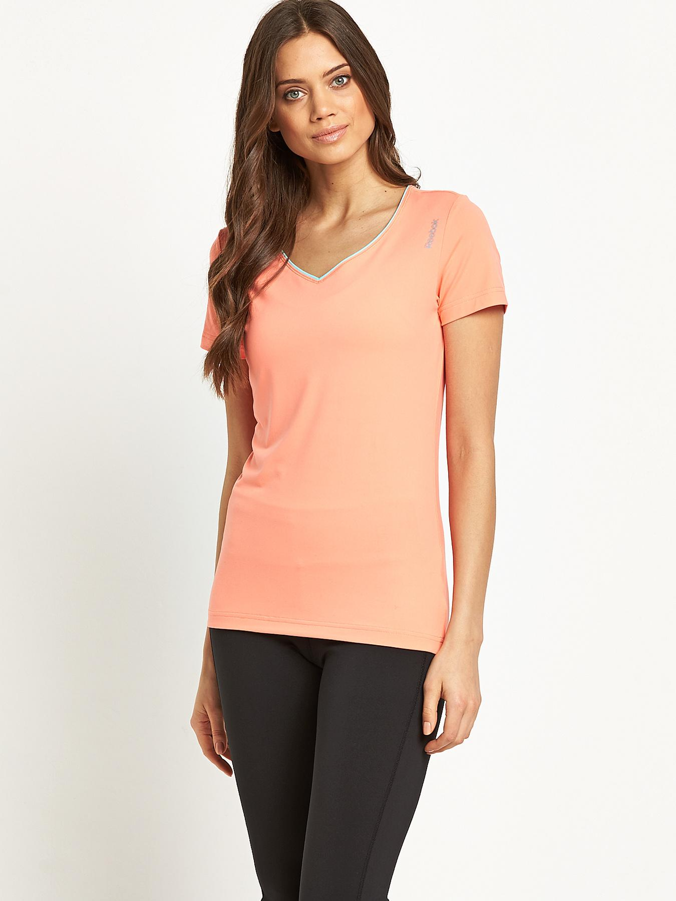 Workout Tshirt Coral