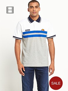 ellesse-mens-heritage-short-sleeve-cut-and-sew-polo-shirt